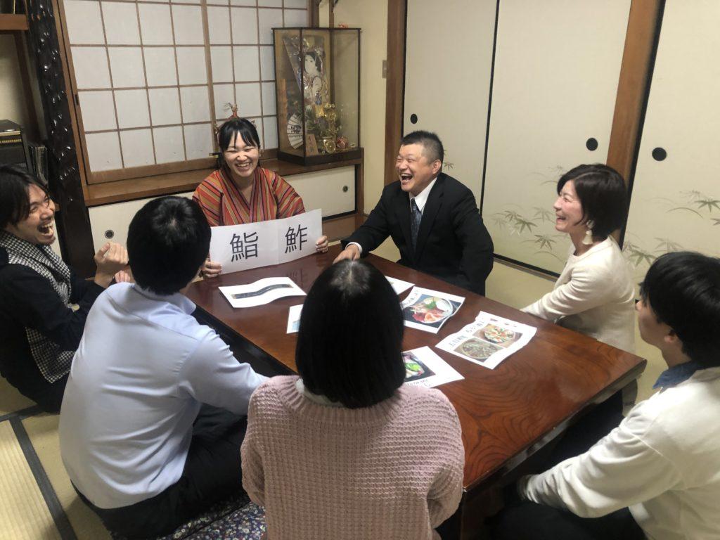 東京のすし屋の娘直伝!すし体験型講座。中級クラス